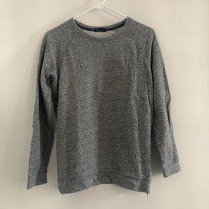 GAP Marled Tuck Pullover